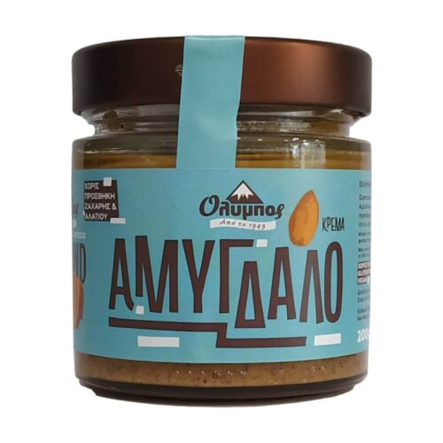 Κρέμα Αμύγδαλο, Χωρίς Ζάχαρη, Όλυμπος, 200γρ