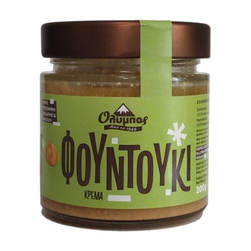 Κρέμα Φουντούκι, Χωρίς Ζάχαρη, Όλυμπος, 200γρ