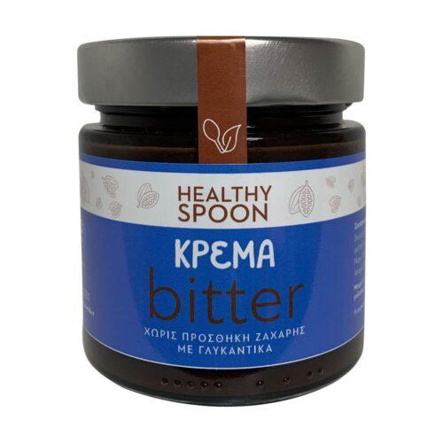 Κρέμα Πραλίνα Healthy Spoon, Bitter, Νηστίσιμη, Χωρίς Ζάχαρη, 250γρ