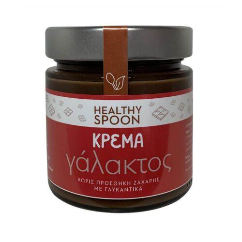 Κρέμα Πραλίνα Healthy Spoon, Γάλακτος, Χωρίς Ζάχαρη, 250γρ