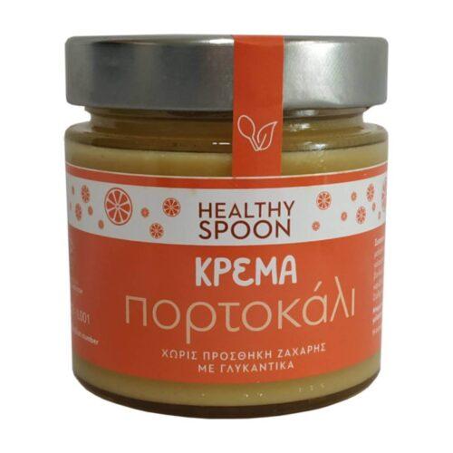 Κρέμα Πορτοκάλι, Healthy Spoon, Χωρίς Ζάχαρη, 250γρ