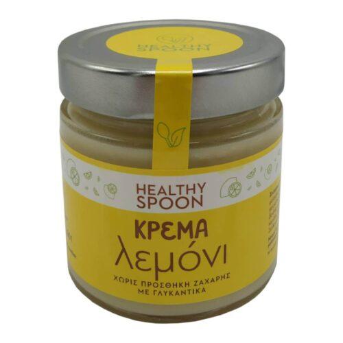 Κρέμα Λεμόνι, Healthy Spoon, Χωρίς Ζάχαρη, 250γρ