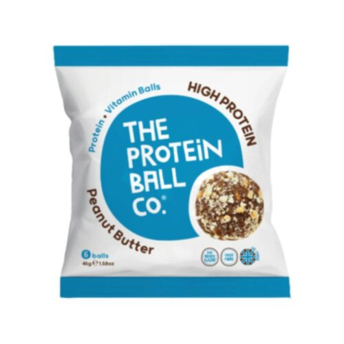 Peanut Butter, Μπάλες Πρωτεΐνης με Γεύση Φυστικοβούτυρο, The Protein Ball Co, 45γρ